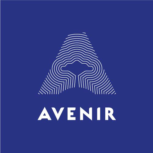 logo avenir bleu