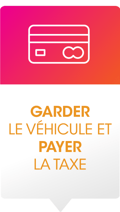 TVS Pick-up éviter la taxe