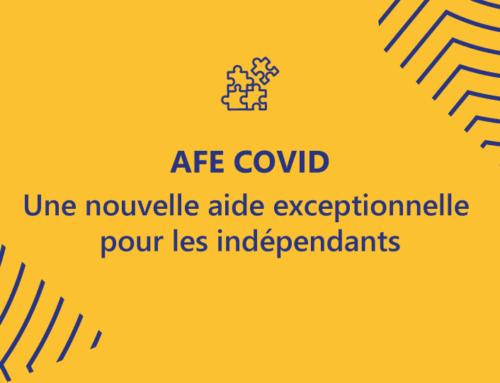 COVID-19: une nouvelle aide financière exceptionnelle pour les indépendants
