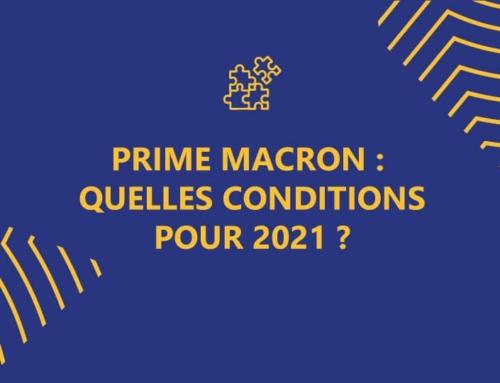 Prime Macron 2021: quelles conditions pour 2021?
