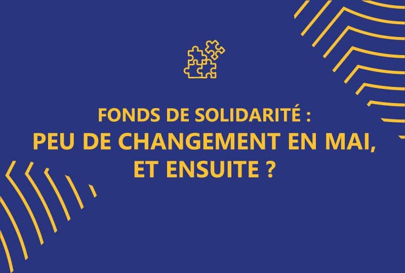 Fonds de solidarité été 2021
