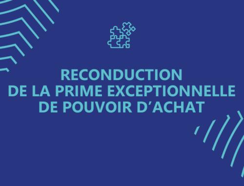 Reconduction de la Prime Exceptionnelle de Pouvoir d'Achat